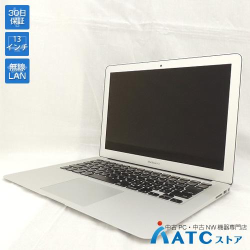 【中古ノートパソコン】Apple/MacBook Air/MMGF2J/A/Core i5 1.6GHz/SSD 128GB/メモリ8GB/13.3インチ/Mac OS X 10.12【良】