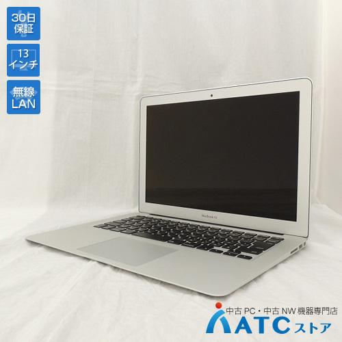 【中古ノートパソコン】Apple/MacBook Air/MJVE2J/A/Core i5 1.6GHz/SSD 128GB/メモリ4GB/13.3インチ/Mac OS X 10.11【良】