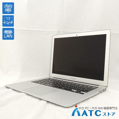 【中古ノートパソコン】Apple/MacBook Air/MJVG2J/A/Core i5 1.6G/SSD 256GB/メモリ4GB/13.3インチ/Mac OS X 10.11【良】