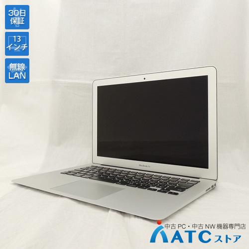 【中古ノートパソコン】Apple/MacBook Air/MQD42J/A/Core i5 1.8GHz/SSD 256GB/メモリ8GB/13.3インチ/Mac OS X 10.12【良】