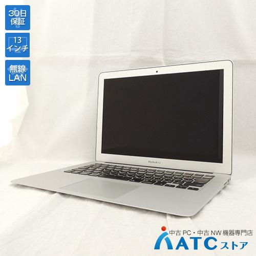 【中古ノートパソコン】Apple/MacBook Air/MMGF2J/A/Core i7 2.2GHz/SSD 128GB/メモリ8GB/13.3インチ/Mac OS X 10.12【良】