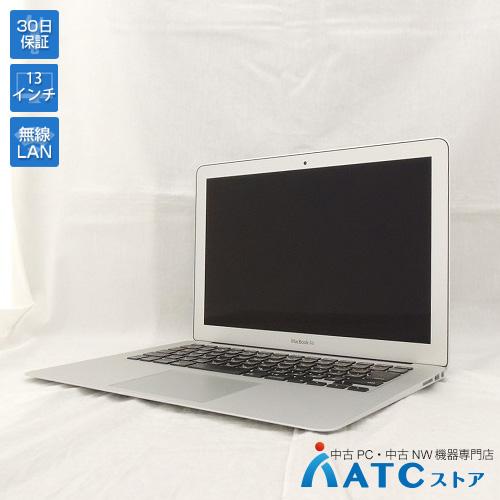【中古ノートパソコン】Apple/MacBook Air/MJVG2J/A/Core i5 1.6GHz/SSD 256GB/メモリ8GB/13.3インチ/Mac OS X 10.11【良】