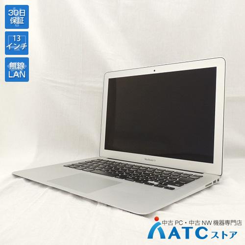 【中古ノートパソコン】Apple/MacBook Air/MJVE2J/A/Core i7 2.2G/SSD 128GB/メモリ8GB/13.3インチ/Mac OS X 10.11【可】