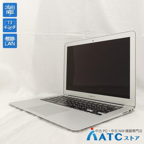 【中古ノートパソコン】Apple/MacBook Air/MD760J/A/Core i5 1.3GHz/SSD 128GB/メモリ 4GB/13.3インチ/Mac OS X 10.8【可】