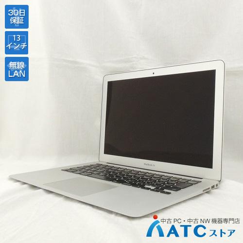 【中古ノートパソコン】Apple/MacBook Air/MD760J/A/Core i5 1.3GHz/SSD 128GB/メモリ 4GB/13.3インチ/Mac OS X 10.9【可】