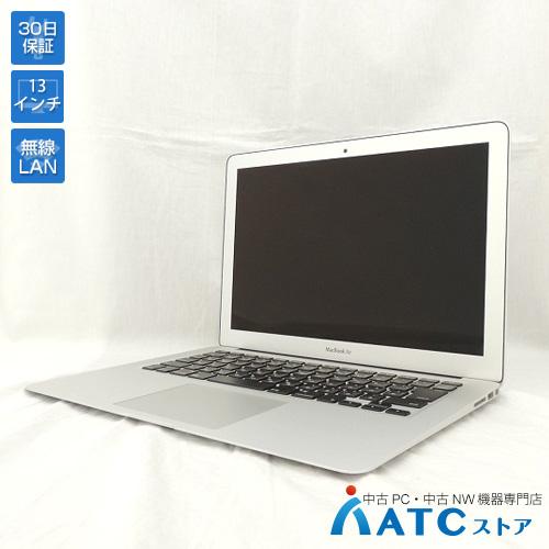【中古ノートパソコン】Apple/MacBook Air/MD760J/B/Core i5 1.4GHz/SSD 128GB/メモリ 4GB/13.3インチ/Mac OS X 10.9【可】