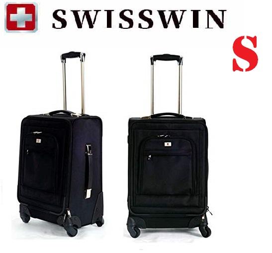 【送料無料】SWISSWIN スイスウィン スーツケース SW9718 キャリーケース ビジネスキャリー サイレント機内持ち込み 4輪独立★ S サイズ
