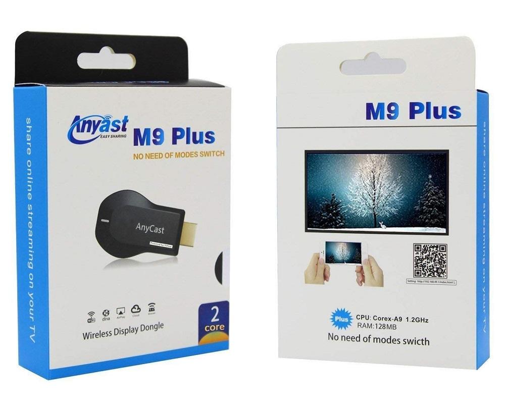 遊び 仕事両用可 超小型タイプでどこでもスマートフォン タブレットのオンライン映像 音楽などを大画面テレビで簡単に楽しめる 送料無料 HDMI ドングル レシーバー AnyCast M9 Plus ギフト プレゼント ご褒美 Macシステム対応可能 AnyCast対応HDMIアダプター Windows Airplay WiFiディスプレイ 1080P対応 WiFiドングル IOS 720 DLNA対応ワイヤレスデイスプレーアダプタ Miracast Android ファッション通販