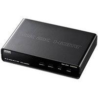 【送料無料】サンワサプライ 4K対応 HDMI分配器 2分配 VGA-UHDSP2