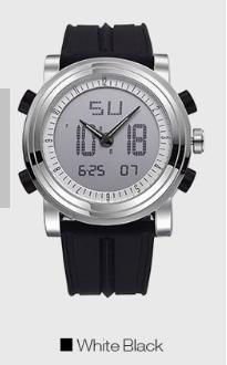 メール便発送 代引不可 MK 次世代 腕時計 ウォッチ 永遠の定番モデル デジタル アナログ LED搭載 カレンダー アラーム 日付 ストップウォッチ 曜日 爆買いセール 目覚まし TEC-MANDKD バックライト
