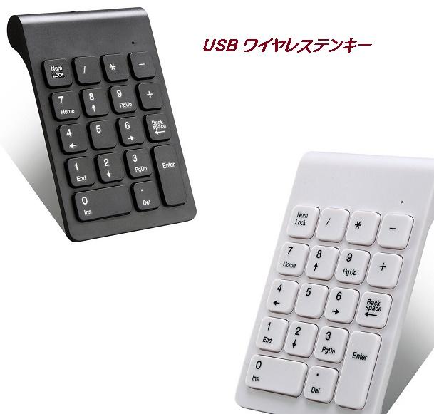 メール便発送 代引不可 Windows10対応 無線 ツナキー テンキーボード パソコン PC 人間工学 贈答 18キー ワイヤレス 数字 売れ筋 極薄型 TEC-TUNATUNAKEYD