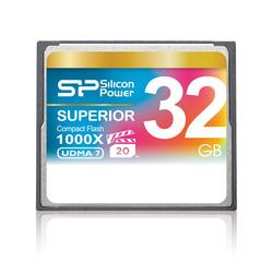 シリコンパワー コンパクトフラッシュ (CFカード 32GB 1000倍速) [SP032GBCFC1K0V10]