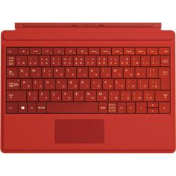マイクロソフト Surface 3用 Type Cover ブライトレッド MSKAA4