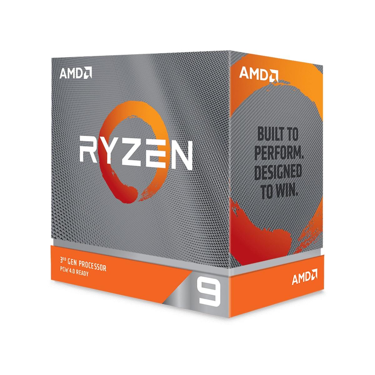 日本正規品 AMD Ryzen 3900XT 9 卓出 without cooler 3.8GHz 70MB 12コア 105W 国内正規代理店品 100-100000277WOF 24スレッド