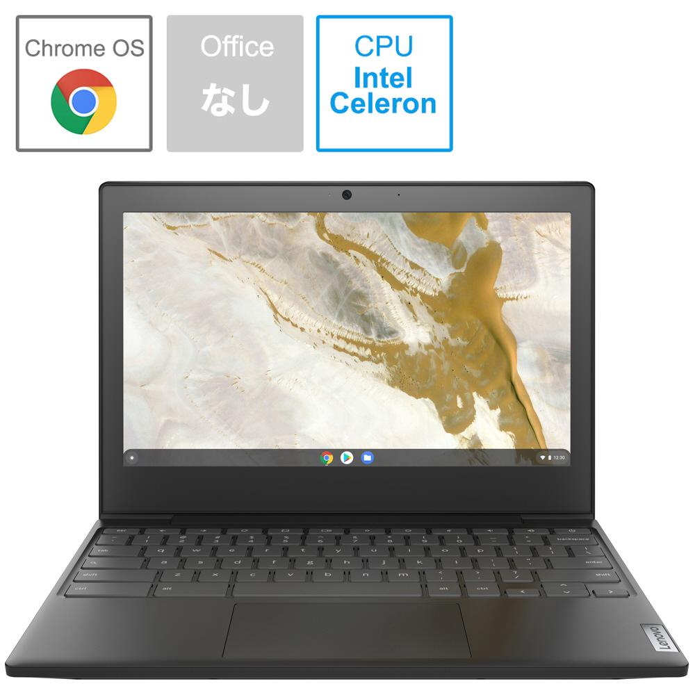 レノボジャパン Lenovo Chromebook クロームブックノートパソコン IdeaPad Slim350i オニキスブラック メモリ:4GB Celeron 11.6型 82BA000LJP intel 奉呈 eMMC:32GB 開催中 2020年8月モデル
