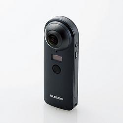 エレコム 4K対応VRカメラ OMNI shot OCAM-VRW01BK