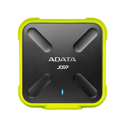 ADATA Durable SD700 External ASD700-1TU3-CYL [イエロー] (USB 3.1Gen1接続 1TB)