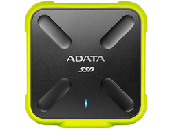 ADATA Durable SD700 External ASD700-256GU3-CYL [イエロー]