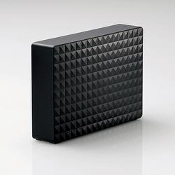 SEAGATE SGD-NZ040UBK [ブラック] (USB3.1/USB3.0/USB2.0接続 外付けHDD 4TB)