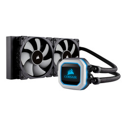 新商品!新型 Corsair H100i PRO RGB 激安格安割引情報満載 AMD対応 Intel CW-9060033-WW CPU水冷クーラー