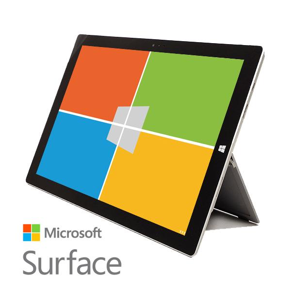 MicroSoft サーフェス Surface Pro 3 SSD 2in1 Corei5 4GBメモリ シルバー Windows10 Pro 64bit 12型 中古パソコン 中古ノートパソコン