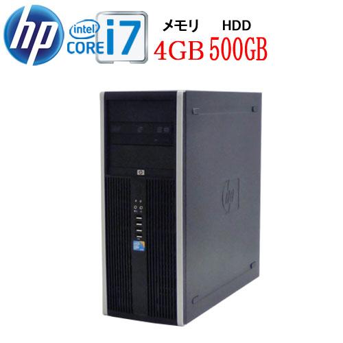 HP 8300MT Core i7 3770 3.4G メモリ4GB HDD500GB DVDマルチ Windows10 Pro 64bit 0923aRRR USB3.0対応 中古 中古パソコン デスクトップ