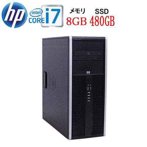 HP 8300MT Core i7 3770 3.4GB メモリ8GB 高速新品SSD512GB DVDマルチ Windows10 Pro 64bit 中古 中古パソコン デスクトップ 0955a-4R