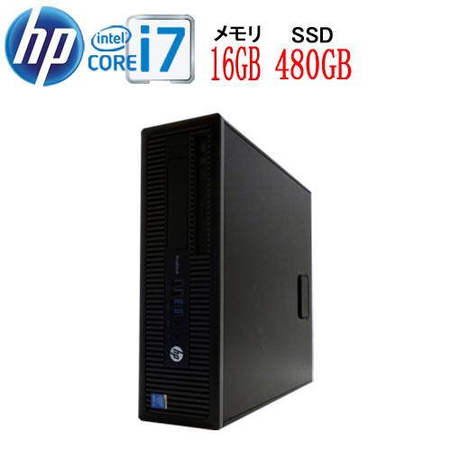 24時間限定!エントリー&カード決済で全品ポイント14倍!4/1から HP 600 G1 SF Core i7 4790(3.6GHz) 大容量メモリ16GB 高速新品SSD512GB DVDマルチ Windows10 Pro 64bit MAR WPS Office付き USB3.0対応 1531a-3R中古パソコン デスクトップ
