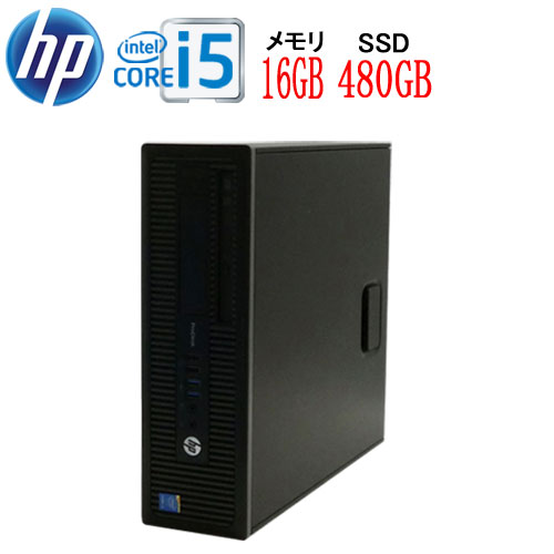 HP ProDesk 600 G1 SF Core i5 4570(3.2GHz) 大容量メモリ16GB 高速新品SSD512GB DVDマルチ Windows10 Pro 64bit WPS Office付き USB3.0対応中古パソコン デスクトップ 1621a16-mar-R