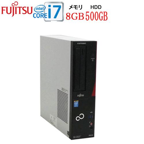 24時間限定!エントリー&カード決済で全品ポイント14倍!4/1から 富士通 FMV-D583 Core i7 4770(3.4Ghz) メモリ8GB HDD500GB DVD±R RW WPS Office付き Windows10Pro 64bit 1638a-mar-R中古パソコン デスクトップ