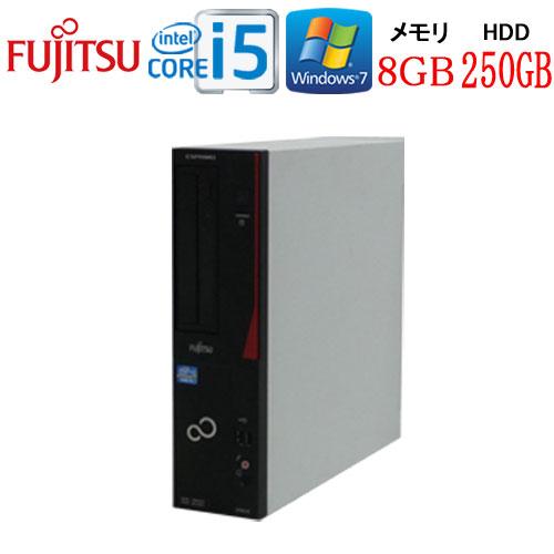 24時間限定!エントリー&カード決済で全品ポイント14倍!4/1から Windows7Pro 64Bit 富士通 FMV d582 Core i5 3470(3.2GHz) メモリ8GB HDD250GB DVD-ROM WPS Office付き 1661a1-R USB3.0対応 中古 中古パソコン デスクトップ
