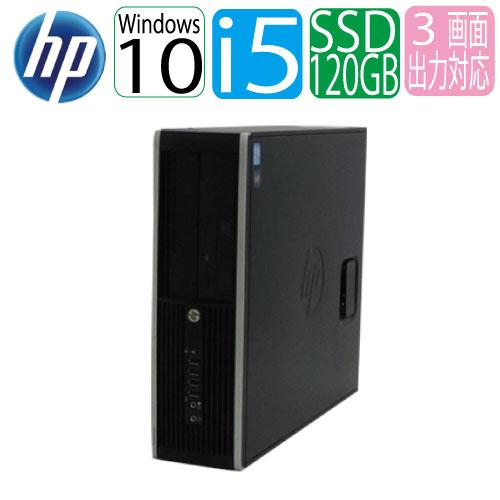24時間限定!エントリー&カード決済で全品ポイント14倍!4/1から Windows10 Home 64bit HP 6300sf Core i5 3470(3.2GHz) メモリ4GB 新品SSD120GB GeForce GT710(HDMI内蔵) 中古パソコン デスクトップ 1351hR
