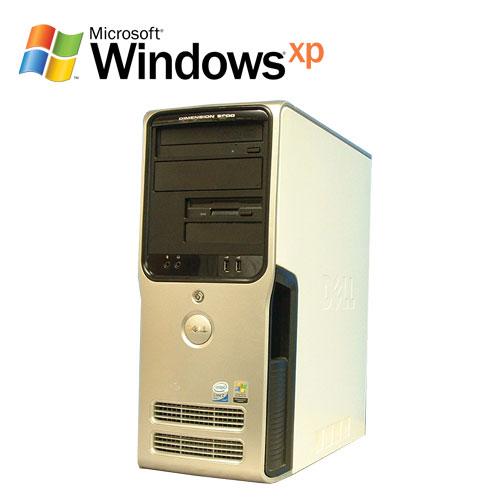 エントリーしてカード決済がお得!ポイント最大11倍!DELL Dimension 9200 Core2 Duo E6400 メモリー1GB DVD-ROM HDD250GB WindowsXP Pro R-d-480 中古パソコン デスクトップパソコン