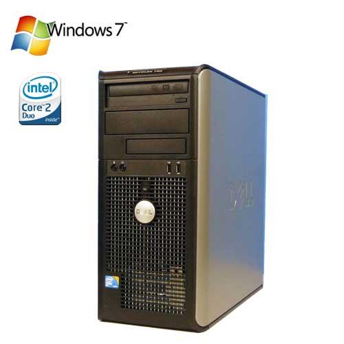 Windows7Pro DELL Optiplex 780MT Core2 Duo E8400 メモリー4GB 160GB DVDマルチ d-234 R-d-234 中古 中古パソコン デスクトップ