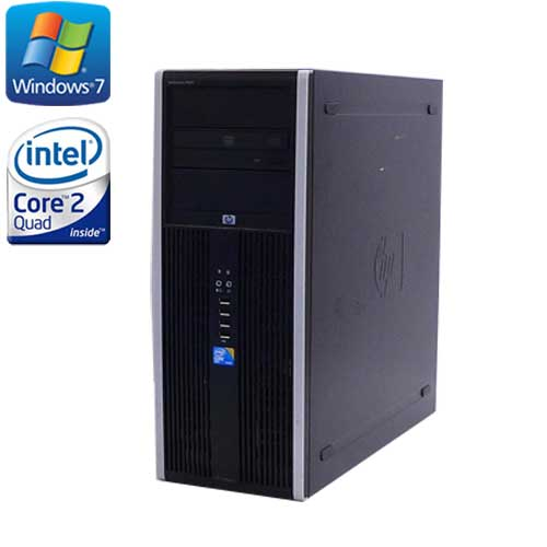 ゲーミングpc 中古 デスクトップ HP 8000 MT /Core2 Quad Q9650(3.0) /メモリ8GB /HDD(新品)2TB /DVDマルチ /Geforce GTX1050 / Windows7Pro 64Bit/R-dg-132 /中古
