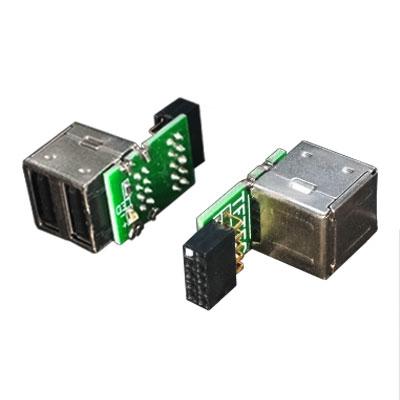 変換名人 ランキング総合1位 MB-USB2 USBコネクタ スーパーセール ピンヘッダ用