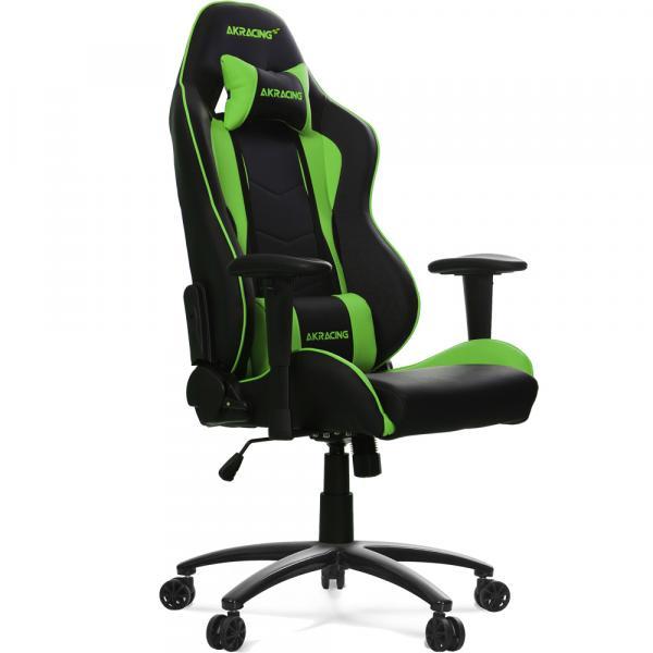 【Gaming Goods】AKRacing Nitro Gaming Chair (Green) 人間工学に基づき設計されたゲーミングチェア グリーン