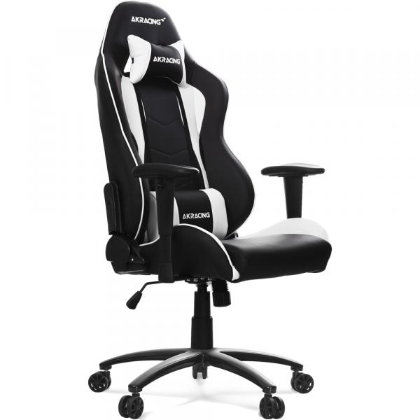 Superb The Gaming Chair White That Was Designed Based On Akracing Nitro Gaming Chair White Ergonomics Theyellowbook Wood Chair Design Ideas Theyellowbookinfo