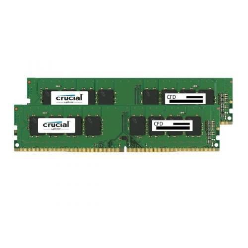 CFD W4U2400CM-8G [DDR4-2400/8GB x2枚] デスクトップ用メモリ Crucial スタンダードモデル