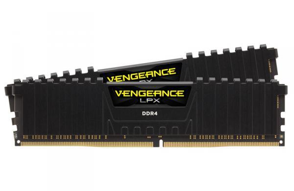 Corsair CMK16GX4M2B3200C16 [DDR4-3200/8GB x2枚] デスクトップ用メモリ Vengeance LPXシリーズ
