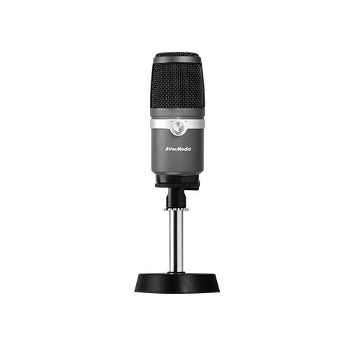 AVerMedia AM310 /USB MICROPHONE 高音質の配信、録音に向けコンデンサーマイクロホン