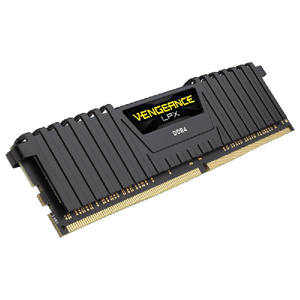 Corsair CMK64GX4M4A2400C14 [DDR4-2400/16GB x4枚] デスクトップ用メモリ Vengeance LPXシリーズ