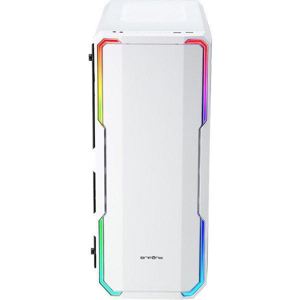 BitFenix BFC-ENS-150-WWWGK-RP ENSO White PCケース E-ATX対応/Addressable RGB LED対応+ガラスパネルで魅せる