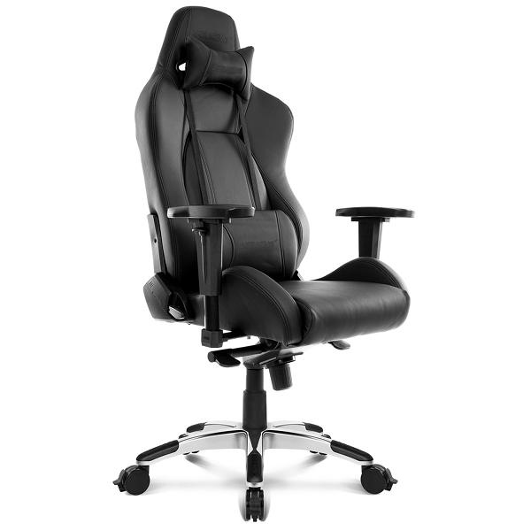 [お取り寄せ]AKRacing Premium Low Edition(Raven) オフィスチェア レイブン 低座面タイププ オフィス向けハイエンドモデル