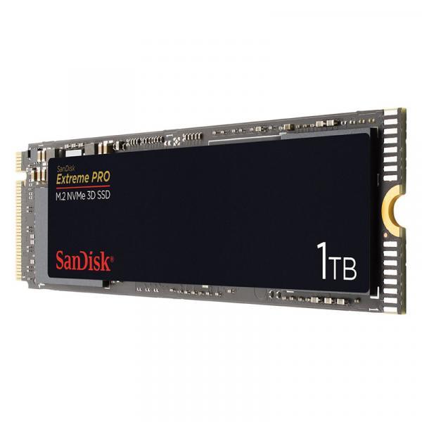 SanDisk SDSSDXPM2-1T00-J25 [1TB/SSD] PCIe Gen3 x4/M.2/Extreme PRO/2280/最大3,400MB/sリード