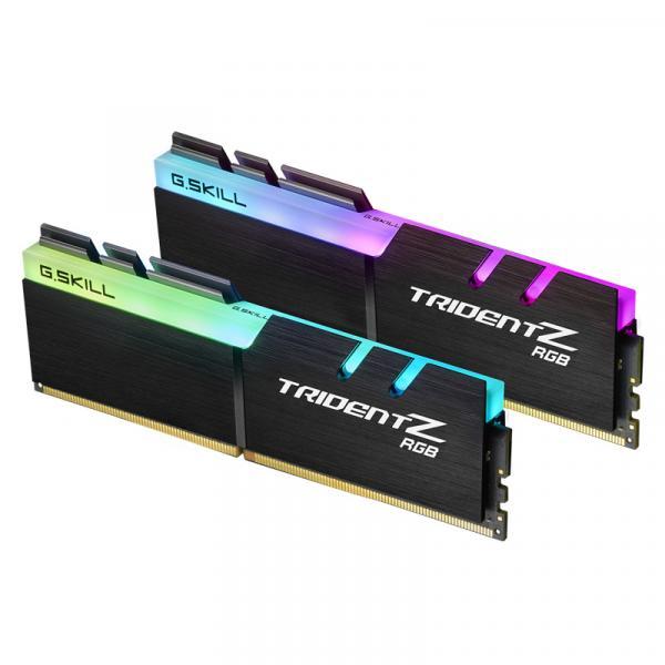 G.Skill F4-2666C18D-16GTZR [DDR4 PC4-21300 8GB 2枚組]デスクトップ用メモリ Trident Z RGB シリーズ