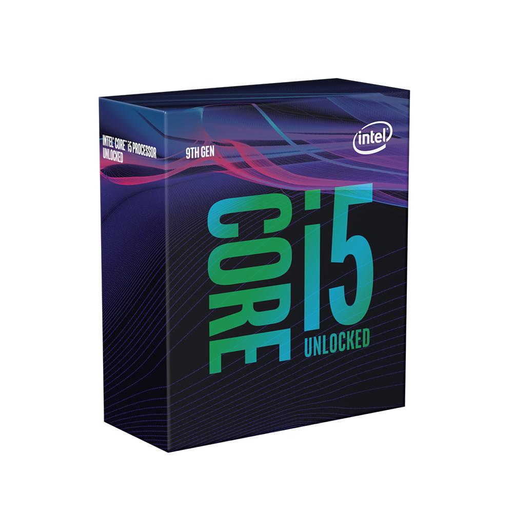 インテル Core i5 9600K BOX (BX80684I59600K) CPU 第9世代インテルCore i5プロセッサー(6コア/6スレッド)