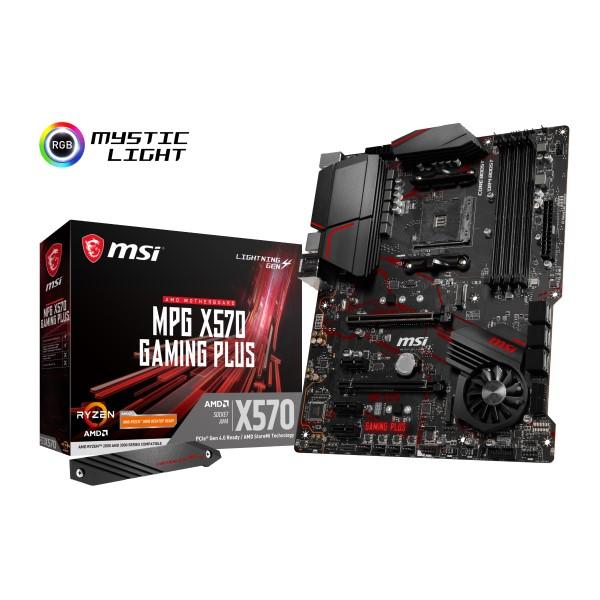 MSI MPG [宅送] 超人気 専門店 X570 GAMING PLUS ATX X570チップセット搭載 ミドルレンジ マザーボード AMD AM4