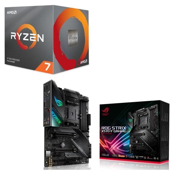 パーツセット AMD お得 Ryzen 7 3700X BOX + セット ASUS X570-F GAMING ROG STRIX 爆買い新作