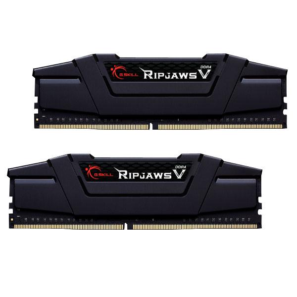 G.SKILL F4-3200C16D-32GVK [DDR4-3200/16GB x2枚] デスクトップ用メモリ Ripjaws V シリーズ